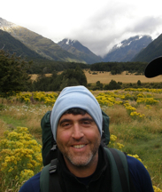 Director Salvatore Consalvi -  Hiking in New Zealand